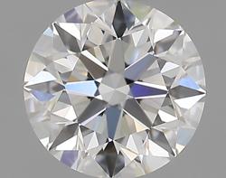 0.50 ct Round Diamond : F / VVS1
