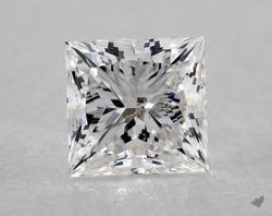 1.01 ct Princess Cut Diamond : F / SI2