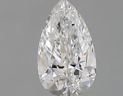 0.30 ct Pear Shape Diamond : E / SI1