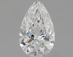 0.35 ct Pear Shape Diamond : E / VS2