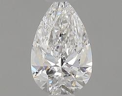 0.30 ct Pear Shape Diamond : D / SI1